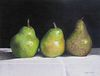 """""""Trio of Pears"""" by Caryn Coville, Greenvale, New York"""