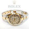 Rolex Datejust Steel & 18K Gold Ladies Watch