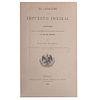 Echegaray, Salvador. El Catastro y el Impuesto Predial. México: Tipografía de la Oficina Impresora del Timbre, 1898.