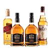 Whisky. a) Whyte and Mackay. b) Bell's. c) Johnnie Walker. Total de piezas: 4.