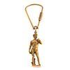 An 18K Key Chain Featuring Michelangelo's David