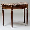 Louis XVI Oak Console
