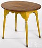New England painted pine and maple tavern table