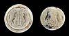 Achaemenid Stone Stamp Seal Bead w/ Ibexes