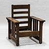 Stickley Brothers Model 631 1/2 Reclining Morris Chair