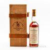 Macallan Anniversary Malt 25 Years Old, 1 750ml bottle (owc)