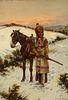 John Hauser (1859–1913) — Winter Hunt - Sioux (1909)