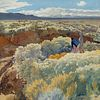 Walter Ufer (1876–1936) — Greasewood and Sage