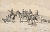 Frederic Remington (1861–1909) — The Borderland of the Other Tribe (ca. 1897)