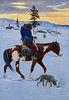 E. William Gollings (1878–1932) — Winter Country (ca. 1920s)