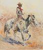 Edward Borein (1872–1945) — Trail Drive