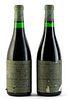 Two Giuseppe Quintarelli-Recioto della Valpolicella Classico bottles, vintage 1983. Category: red wine. Valpolicella D.O.C.. Negrar, Veneto (Italy).