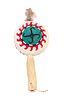 Hopi Dance Whirling Log Rattle