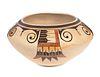 Early Hopi Bowl Sikyatki Revival