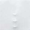 Turi Simeti: Tre Ovali Bianco
