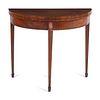 A George III Mahogany Flip-Top Table