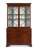A George III Mahogany Bookcase