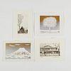 Grp: 4 Norikane & Kaneko Japanese Prints