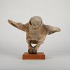 Ricky Kuzuguk bone Carving Sculpture