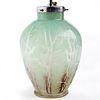 WMF Ikora Germany Deco Art Glass Lamp