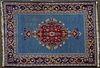 Antique Persian Qum Wool Rug 3 1/2' x 5'