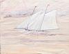 Robert Andrew Parker Sailboat Watercolor