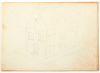 Duncan Grant Graphite Drawings on Sketch Book Sheet