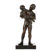 Paul Granlund Cradle Model Bronze Sculpture 1982