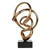 Antonio Kieff Abstract Bronze Sculpture