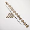 Turkmen & Afghani Silver Belt & Necklace