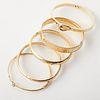 Grp: 5 14K Gold Bracelets