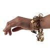 Vintage Gold Filled Pearl Charm Bracelet