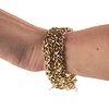 Italian 14K Gold & Amethyst Bracelet