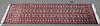 Geometric Red Bokhara Runner Rug