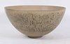 Edwin & Mary Scheier Beige-Glazed Ceramic Bowl