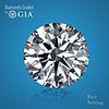 11.88 ct, D/FL, TYPE IIa Round cut GIA Graded Diamond. Appraised Value: $6,130,000