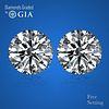 10.08 carat diamond pair Round cut Diamond GIA Graded 1) 5.02 ct, Color E, VVS2 2) 5.06 ct, Color E, VVS2. Appraised Value: $1,857,400