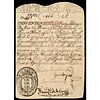Colonial Currency, 1708 Massachusetts Colonial Note Major Rarity PCGS EF-40