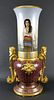 Large Royal Vienna Hand Painted Urn, Circa 1900