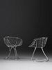 Gastone Rinaldi (Italian, 1920-2006) Pair of Pan Am Chairs