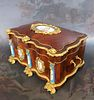 Monumental French Sevres Jewelry Box. 19th C.