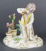 19th C. Meissen Figure of Gardener