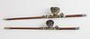 Two Antique Chinese Opium Pipes, 19thCentury