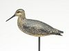 Exceptional dowitcher in resting pose, William Bowman, Lawrence, Long Island, New York, last quarter 19th century.