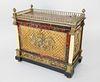Louis XVI Ormolu-mounted Tortoiseshell, Parquetry and Ebonized Wood Music Box