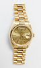 Rolex Oyster Perpetual President Day-Date Watch, 18k Yellow Gold, 36mm
