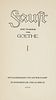 Goethe, Johann Wolfgang von Faust I u. II. Eine Tragödie. 2 Bände. Mit 24 ORadierungen von Arthur Kampf. Berlin, Eigenbrödler-Verlag, 1925. 179 S., 1