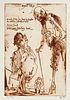 Janssen, Horst Angeber Icks. Eine Quichoterie. Hg. von Claus Clément. Mit 1 num. u. sign. Original-Radierung (lose beiliegend) sowie zahlr. meist blat