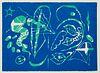 Nebel u.a., Otto Die Sonnengesänge des Echnaton und des Franz von Assisi. Mit 5 OFarb-Linolschnitten von Otto Nebel (inkl. Einband). Frankfurt und Ber
