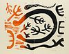 Schlesinger, Gil 15 Holzschnitte. Mit 15 teils zweifarbigen OHolzschnitten. Kunstverein Schloss Röderhof (Olaf Wegewitz), 1991. 13 Bll. Gr.-4°. OPp. m